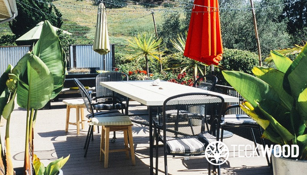 Ash grey composite decking, the latest trend_