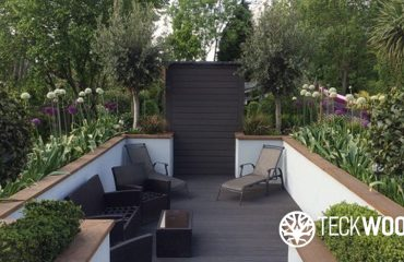 The role of composite decking in garden design