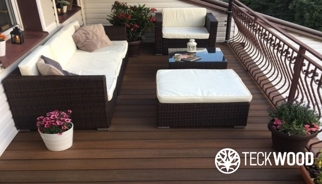 Harmony class b fire rated composite decking