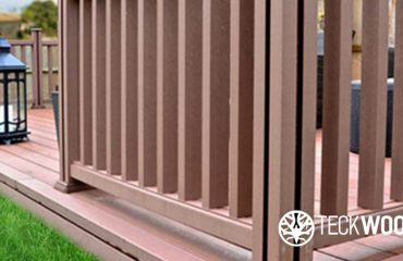 New easy fit composite balustrades by teckwood