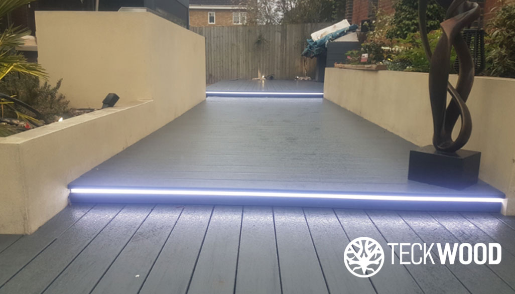 teckwood's safety first composite decking