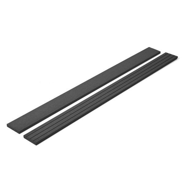 Hallmark Double sided Charcoal Black Decking Trim main image