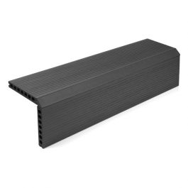 Hallmark Charcoal Black Composite Decking Step Section main image