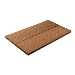 Vintage Double Sided Sandwood Brown Composite Decking Board gallery 1