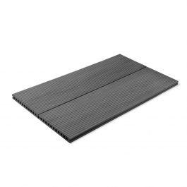 Vintage Double Sided Smoked Grey Composite Decking Board gallery 5