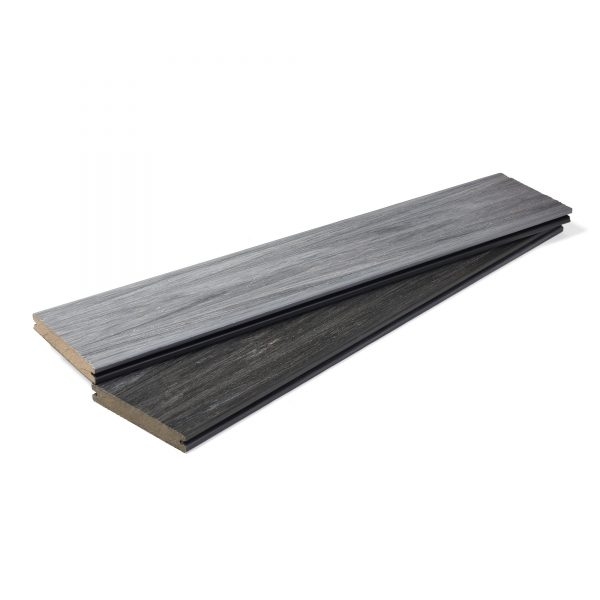 Harmony burned oak composite decking board main image