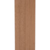 Cedar Post with top bottom cap for Composite Balustrades