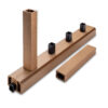 Cedar Spindle for Composite Balustrades