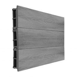 Perennial Stone Grey Composite Cladding Board gallery 1