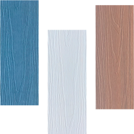 Sample colonial cladding