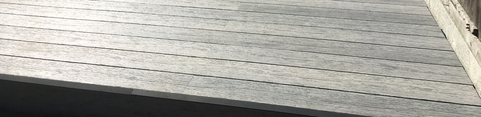 Vintage composite decking heading 1
