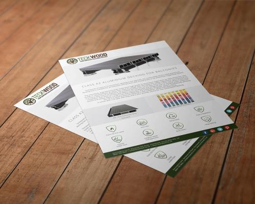 Aluminium Teckwood Brochure
