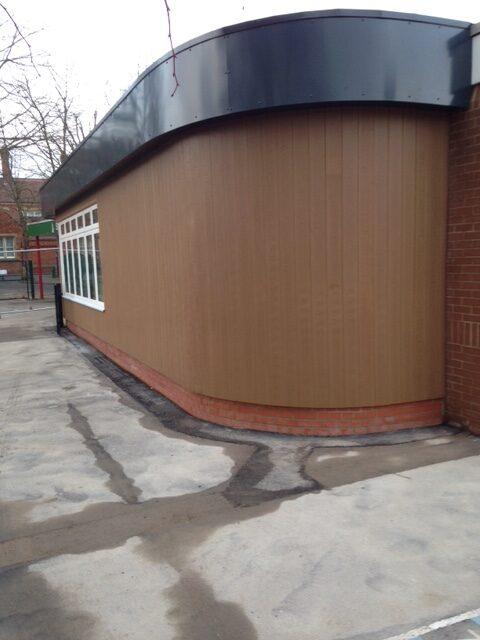Make cladding a design feature on home extensions