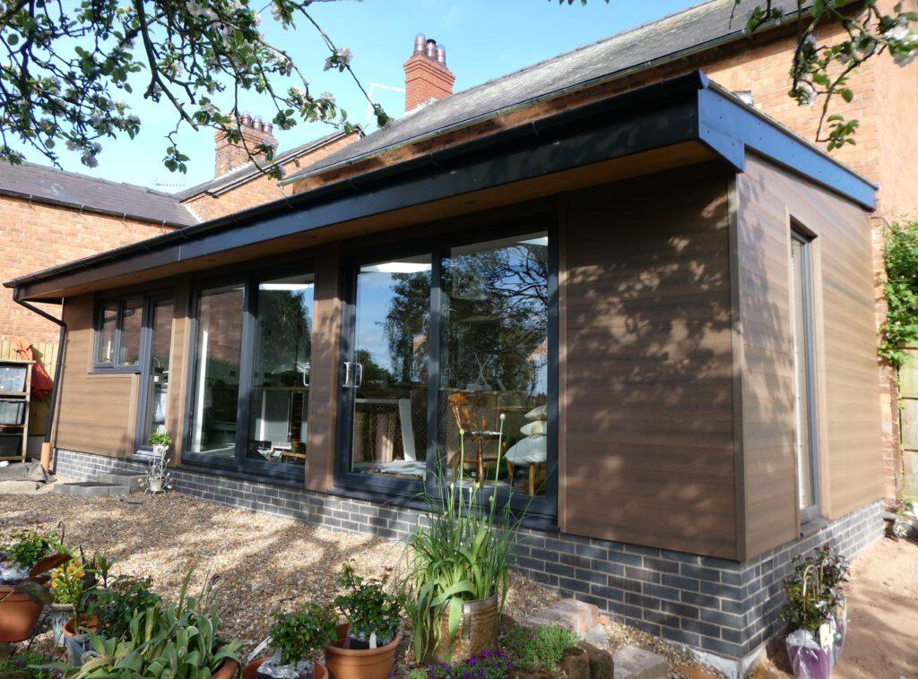 Wood composite cladding: Transform an urban space